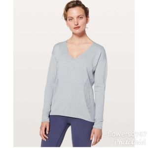 Lululemon Still Movement Sweater Size 10